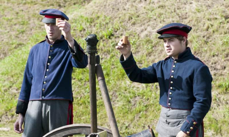 Soldaten Fort bij Nigtevecht