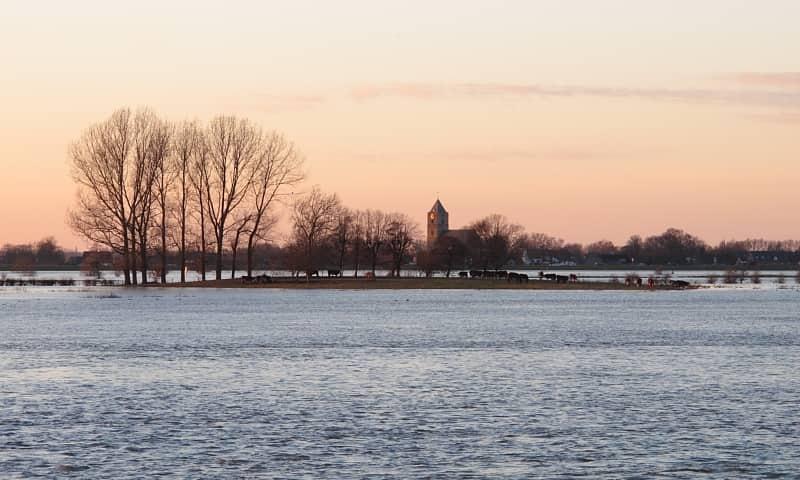 Winterwandeling met snert - Vreugderijkerwaard