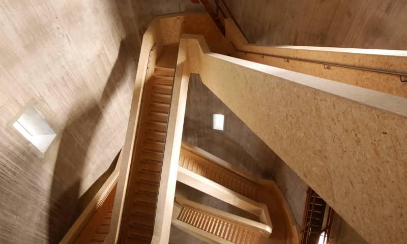 Reis naar boven in de watertoren van Sint Jansklooster, de Wieden