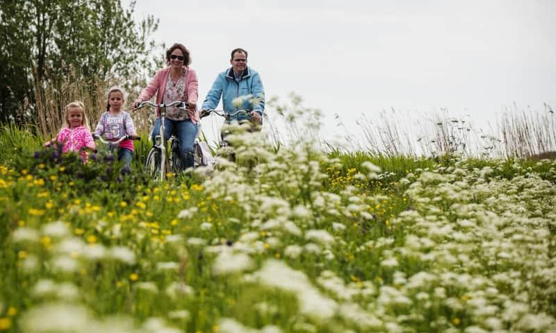 Polderpadroute: Van stadse frats naar lekker groen