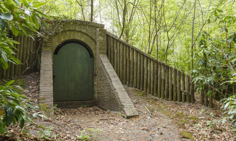 IJskelder op landgoed Schaep en Burgh