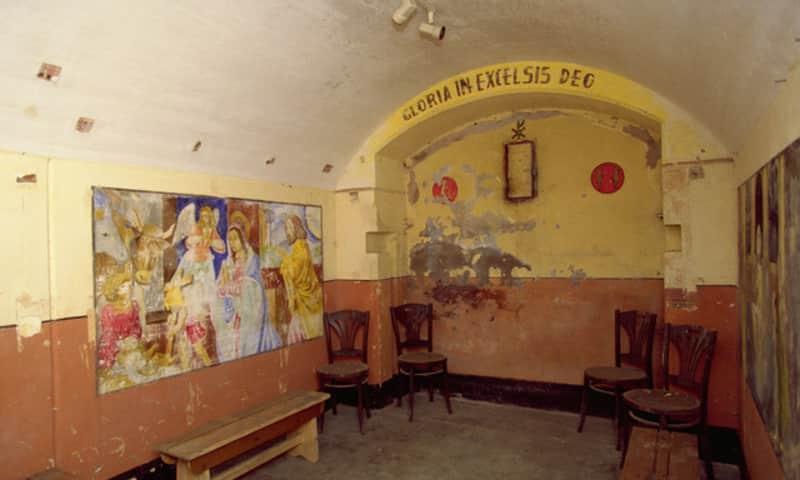 Kapel fort bij Spijkerboor