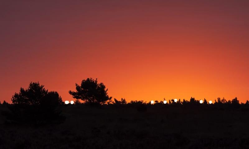 Lichtjestocht van OERRR - Veluwezoom