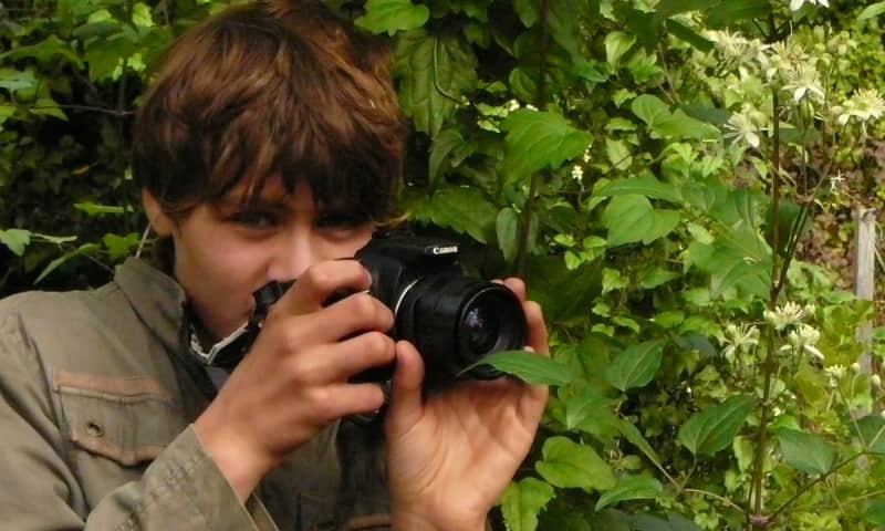 Varen en workshop natuurfotografie voor kinderen