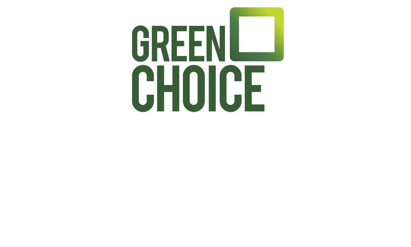 Het logo van partner Greenchoice