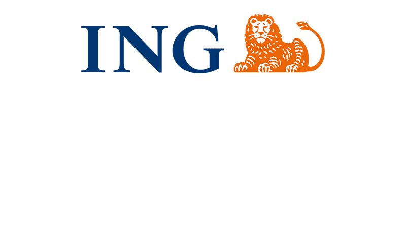 Het logo van partner ING