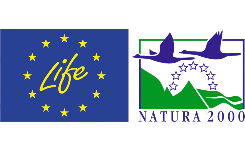 Logo Life+ en Natura 2000