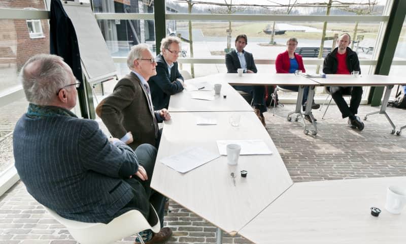 Vergaderen Naardermeer