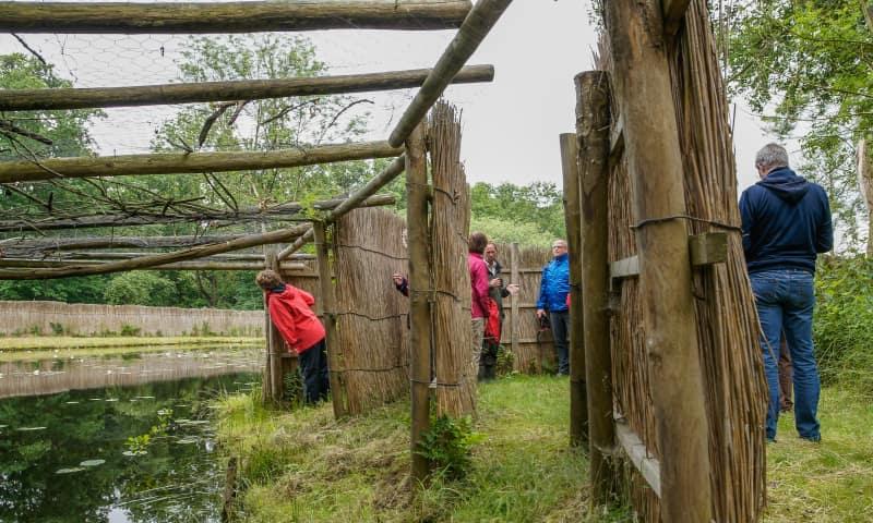 Nationaal Park Weerribben-Wieden eendenkooi