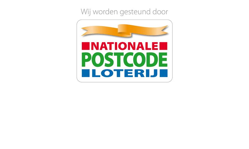 Het logo van partner Nationale Postcode Loterij