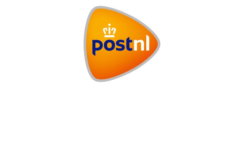 Het logo van partner PostNL