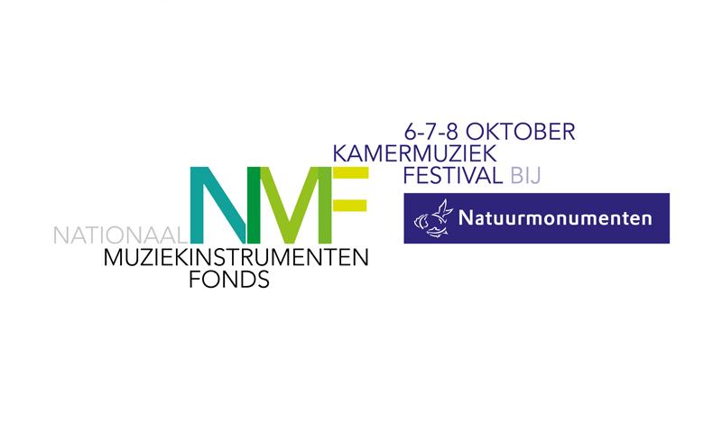 Logo van het NMF Kamermuziekfestival bij Natuurmonumenten