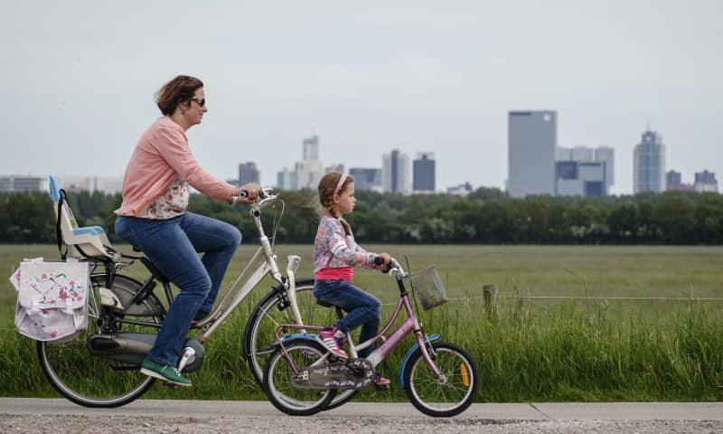 Polderpad, een gloednieuw fietspad vanaf Rotterdam CS