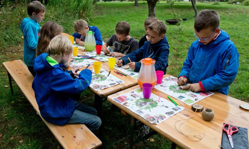 Kinderfeestje in de Ackerdijkse Plassen