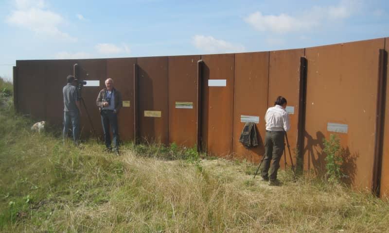 Uitkijkpunten in De Ruidhorn op Uithuizerwad