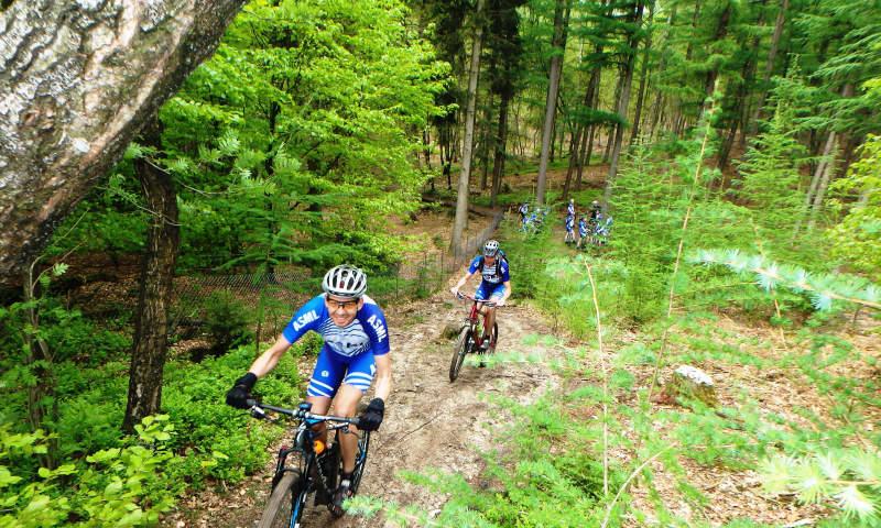 Mountainbiken met MTB-vignet