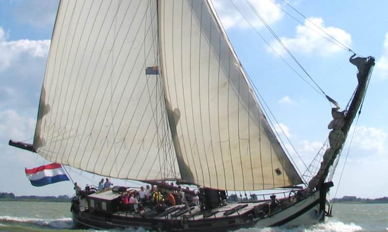 Met zeilschip Egberdina naar Marker Wadden