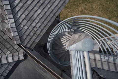 Starecase to Roof Deck