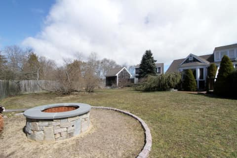 Fire Pit and Rear Yard
