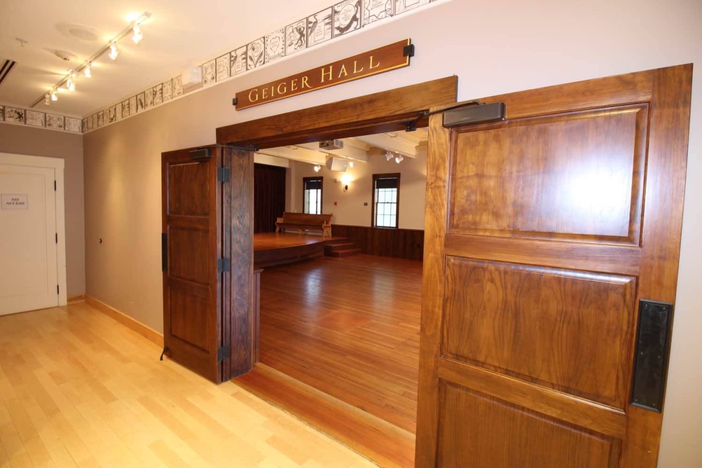Wellfleet Preservation Hall Lower Hall Entry