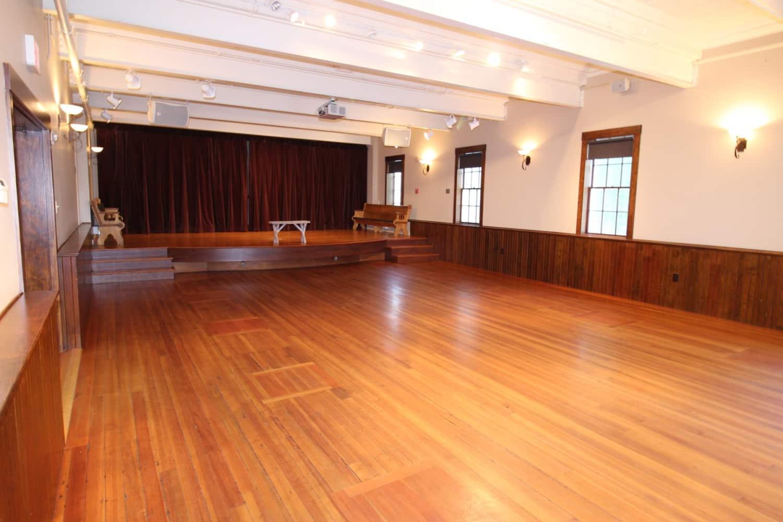 Wellfleet Preservation Hall Lower Hall a