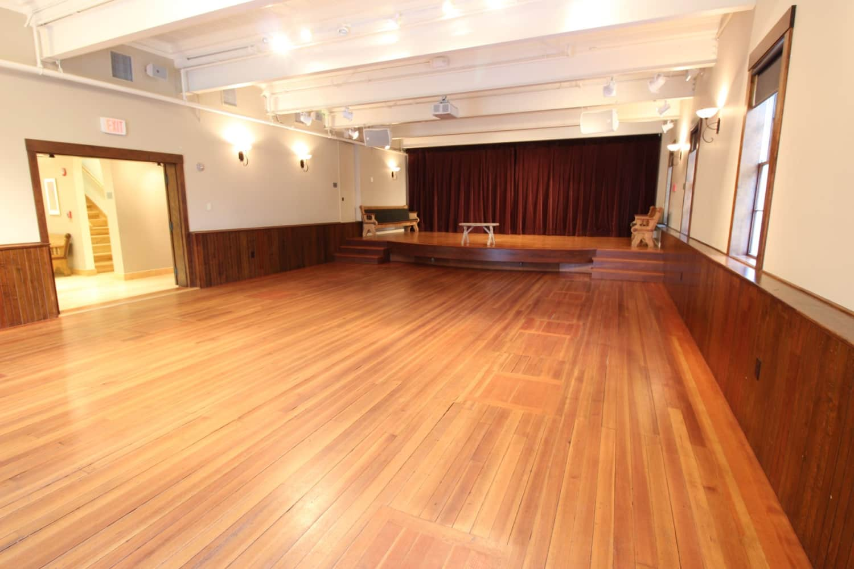 Wellfleet Preservation Hall Lower Hall b