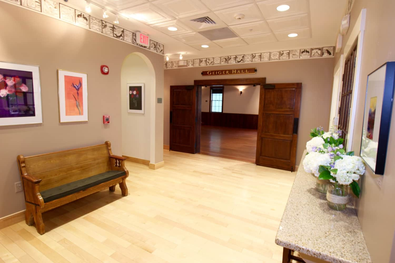 Wellfleet Preservation Hall Lower Lobby b