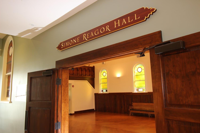 Wellfleet Preservation Hall Simone Reagor Hall