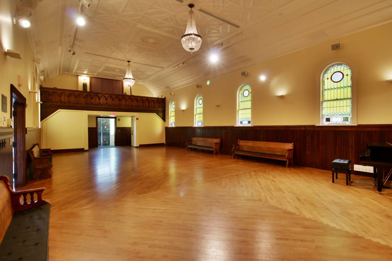 Wellfleet Preservation Hall Upper Hall b