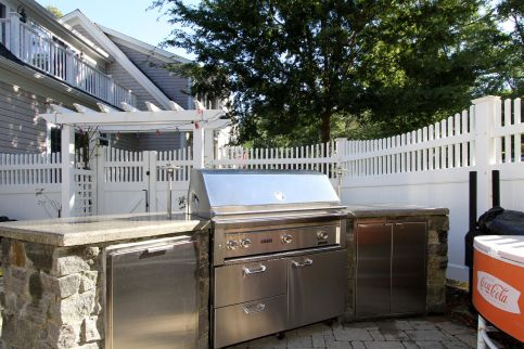 Built-In Grilling Area