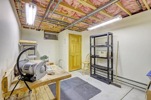 Basement Work Shop