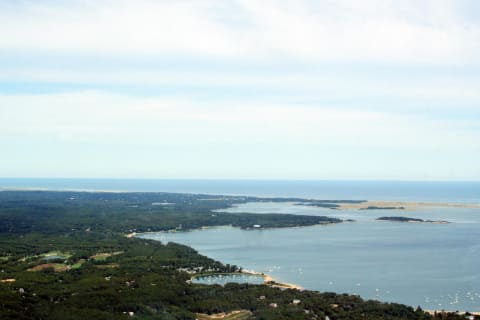 Aerial View of Pleasant Bay