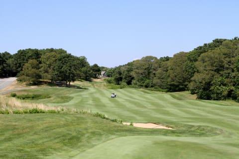 Overlooking Ocean Edge Golf Course