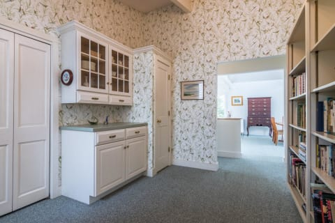 Library/ Butler's Pantry