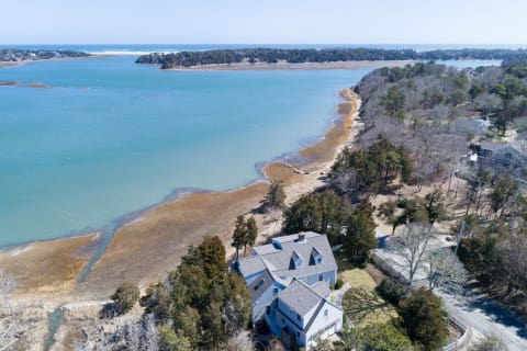 Aerial from House of Inlet