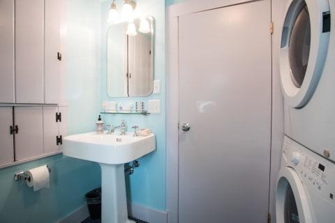 First Floor Bath w/Laundry
