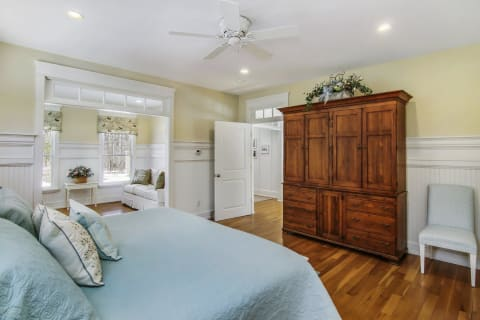 Master Bedroom With Adjacent Office