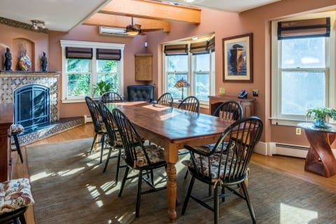Dining Space, Bay Window