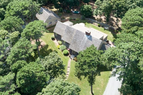 A Drone View of the Property.