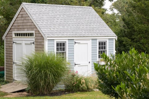 Pine Harbor Wood Products Shed