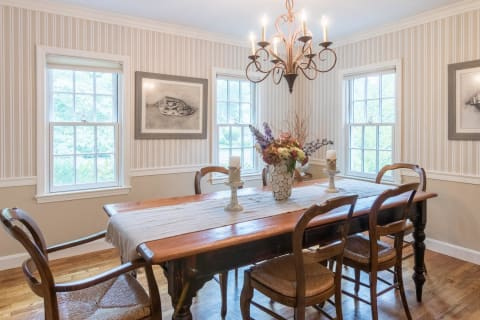 Formal Dining Room w/Wainscoting