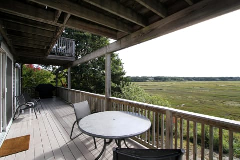 Left Side of Ear Deck Facing Marsh With Bayviews.