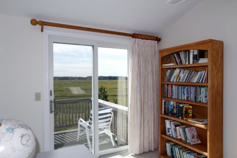 What a Place to Read a Book off the Second Bedroom Upstairs.