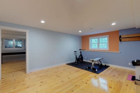 Lower Level Work Out Area