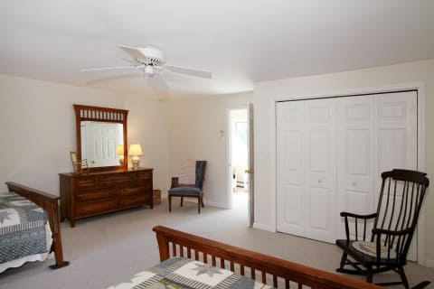 Very Spacious Guest Bedrooms All With Ceiling Fans