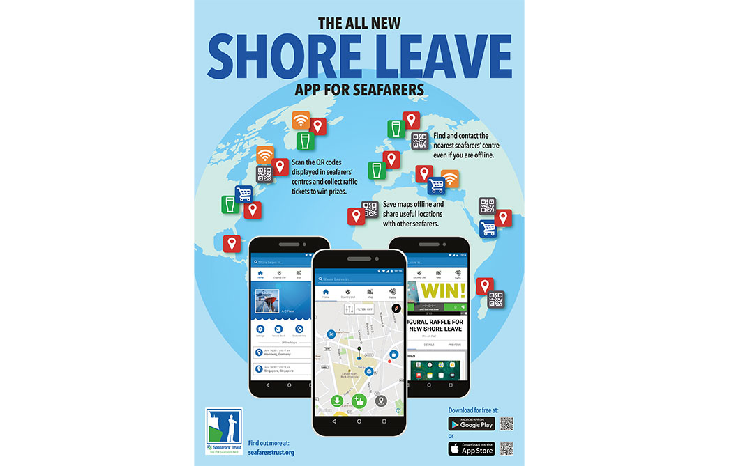 New shore leave app for seafarers