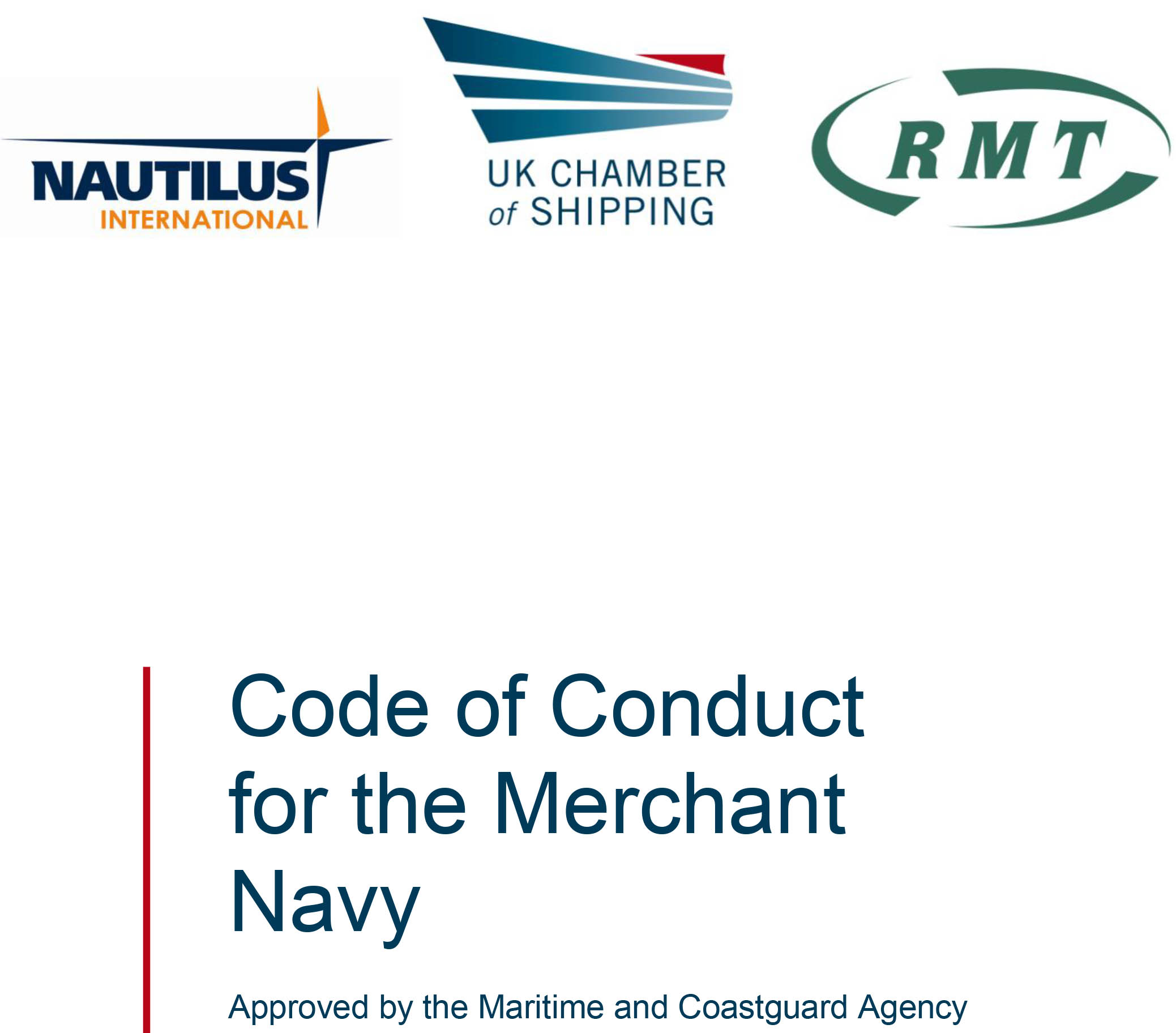 Nautilus Partner Publication Code Of Conduct For The Merchant Navy