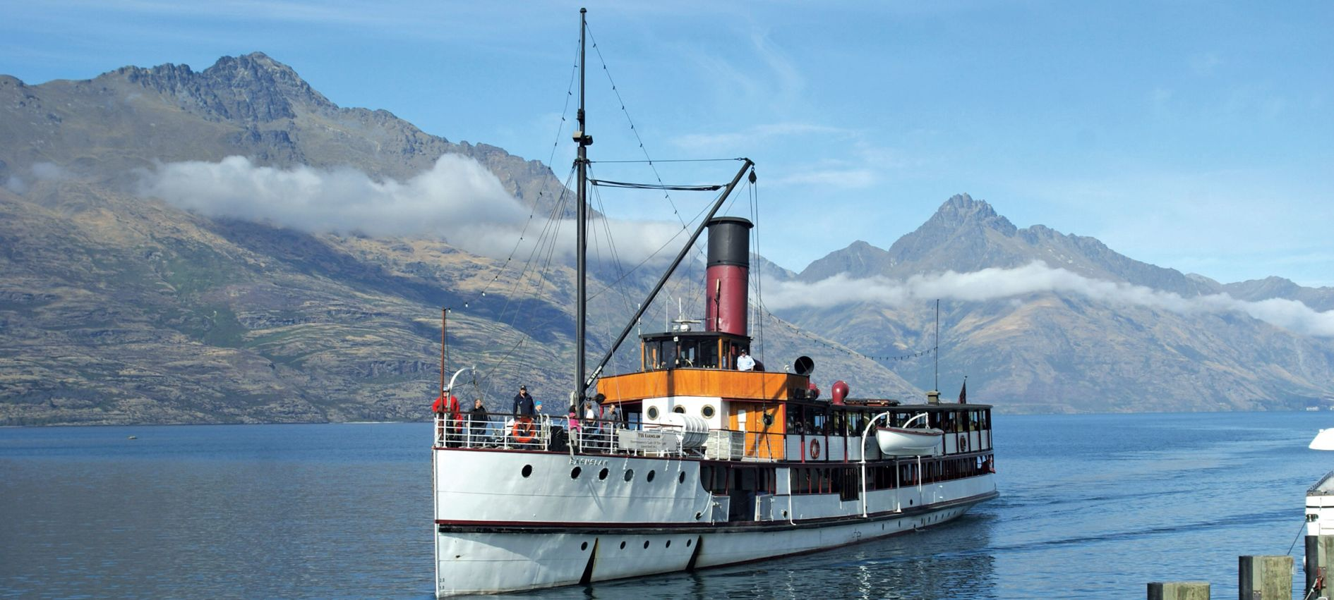 Nautilus Telegraph feature: Ships of the past: TSS Earnslaw