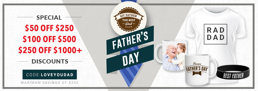 Happy Father's Day Wristbands