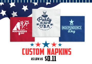 Personalized Custom Napkins